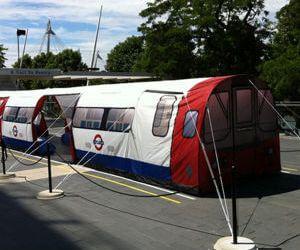 Camping à Londres, comment s'héberger moins cher !