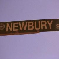"Newbury Street: A ""Stranger's"" View"