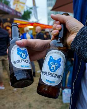 Wolfscraft Beer at the Düsseldorf Gourmet Festival