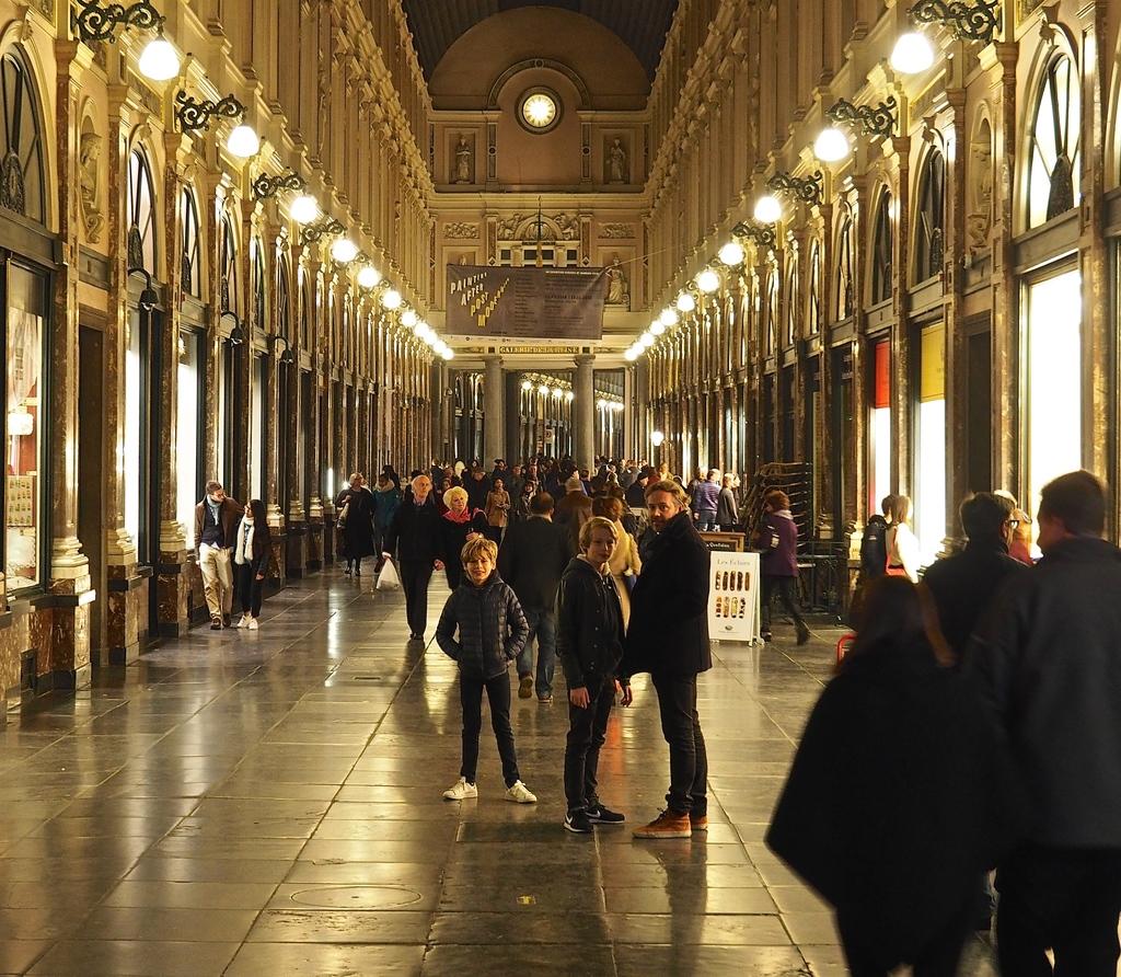 Visiter Bruxelles en famille, que faire en 4 jours ? Galeries Saint-Hubert