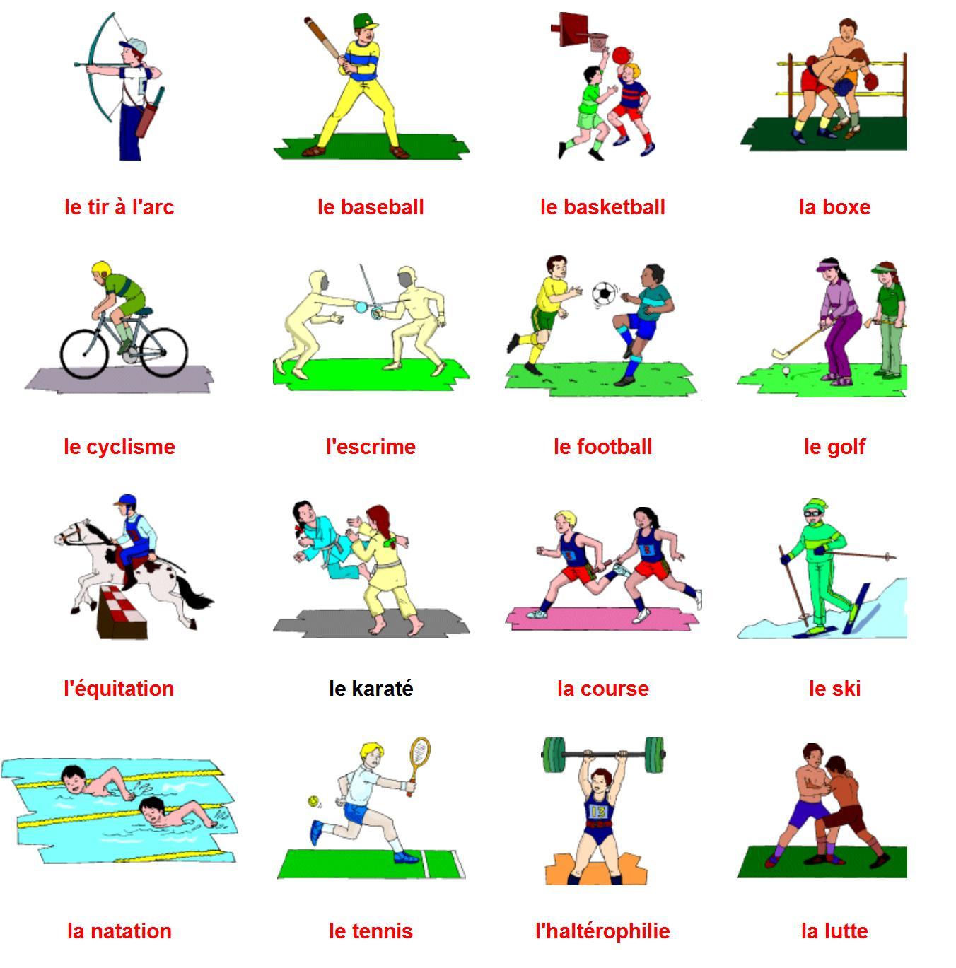 Les Sports Par Alex