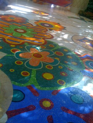 Wynn Hotel, Floor Tiles