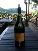 La Vieille Prune is an eau de vie made in a nearby town.