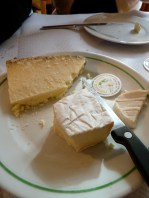 Local cheeses make for a delicious end to a meal.