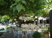 Pont de l'O under the trees