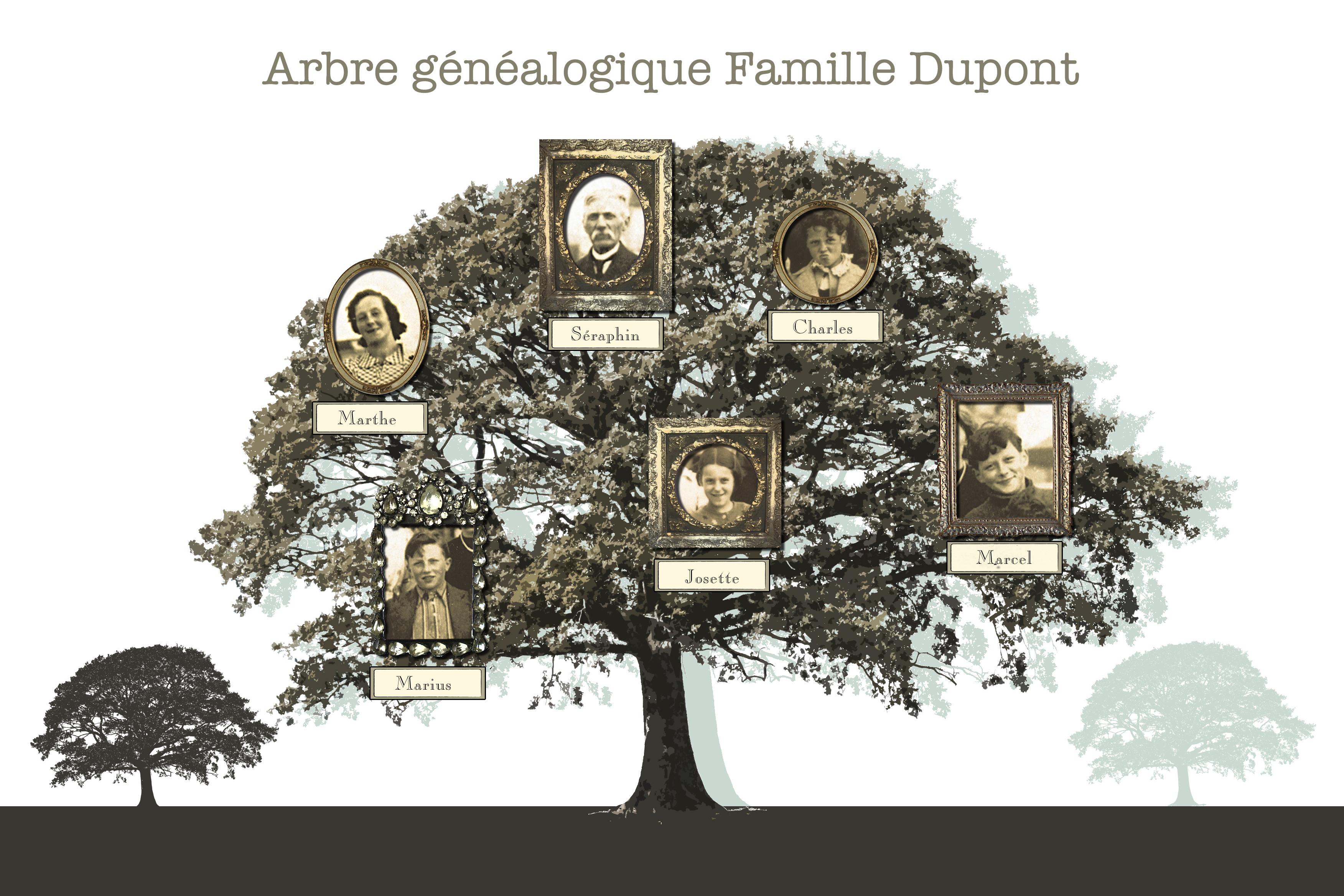 Arbre Genealogique Personnalise