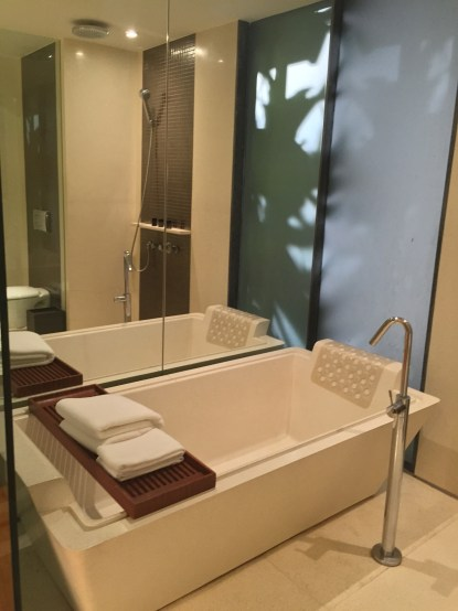 Urban Suite- Soaking tub