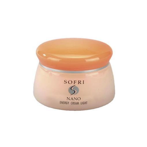 Kem dưỡng da chống lão hóa SOFRI NANO ENERGY CREAM LIGHT có hiệu quả tối ưu trong việc tăng năng lượng tế bào, phục hồi làn da mất nước và lưu thông kém, cho da săn chắc, căng mịn, đẩy lùi lão hóa.