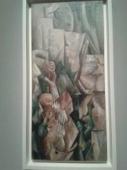 Violon et palette de Georges Braque