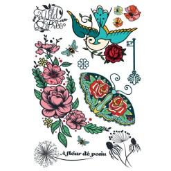 Les Tatoués_Tatouages_Fleurs