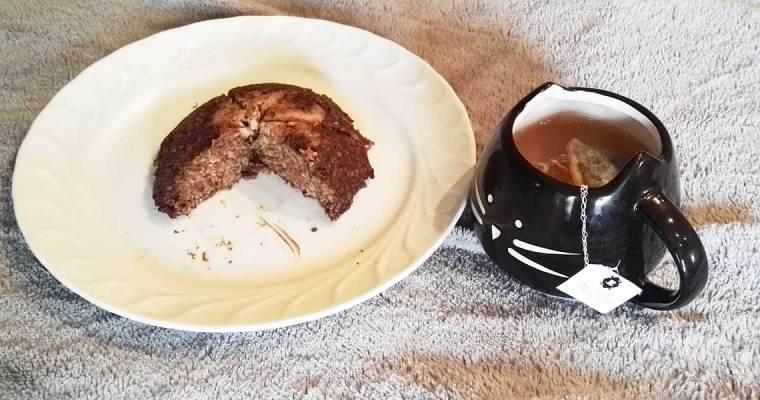 Bowlcake chocolat banane healthy
