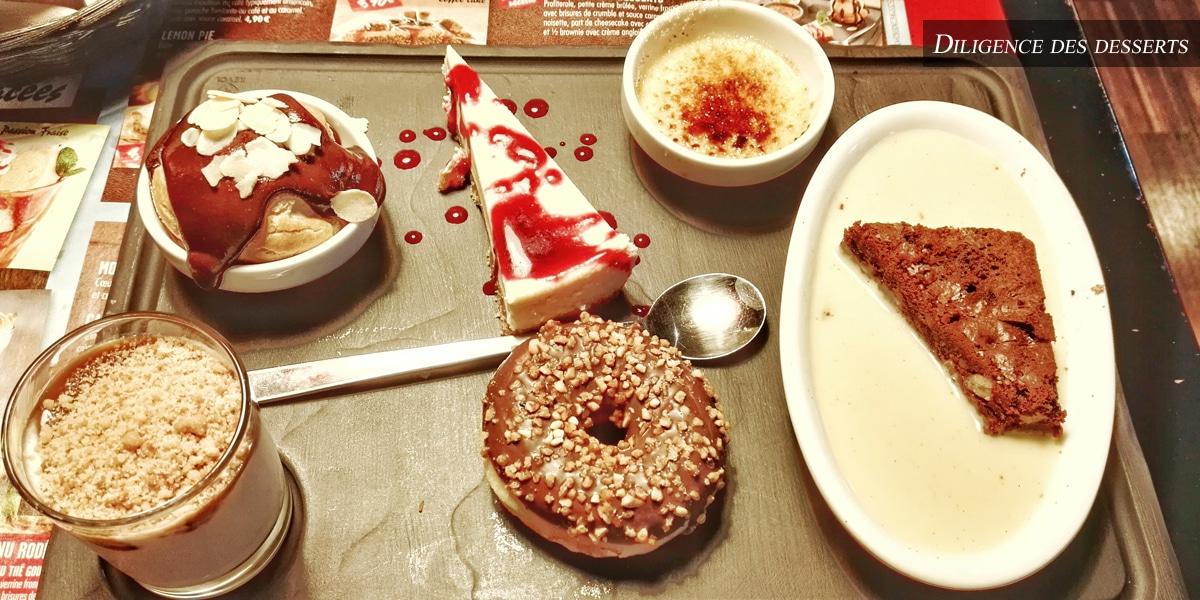 buffalogrill - diligence des desserts
