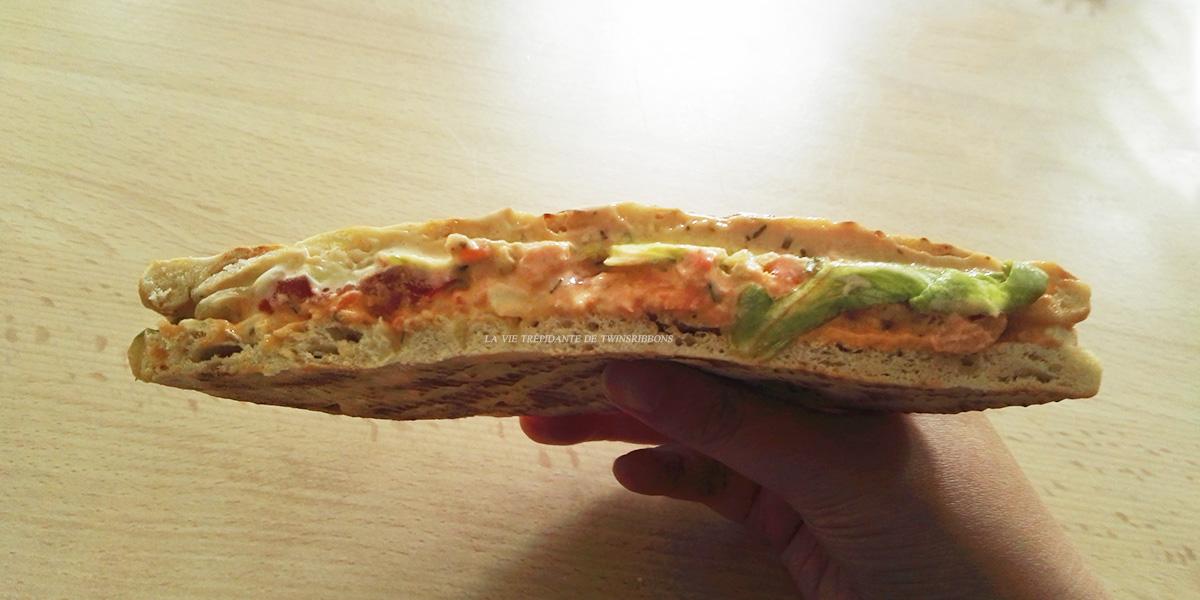 J'ai testé pour vous : le sandwich suedois au saumon – boulangerie les délices de la gare