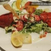 Saladine de homard au vinaigre de framboise – Restaurant Le 8