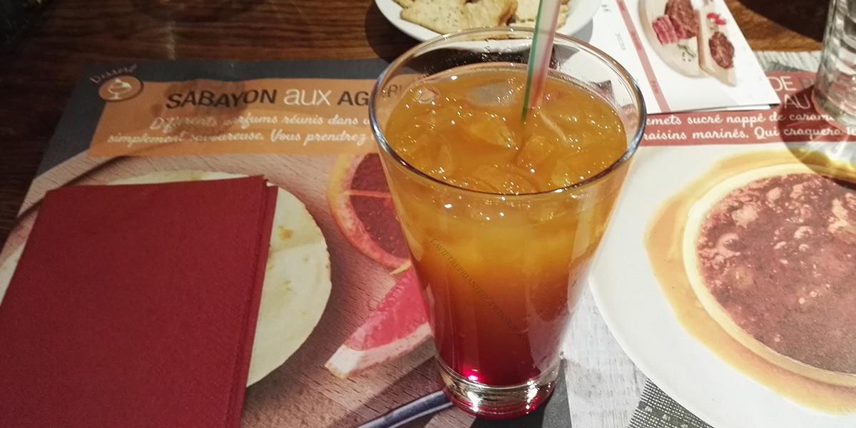 J'ai testé pour vous : le cocktail multifruits sans alcool – courtepaille