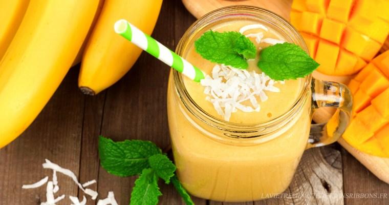 smoothie mangue banane express