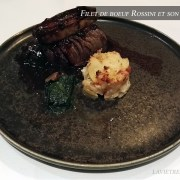 filet de bœuf Rossini – le restaurant La Bourgogne
