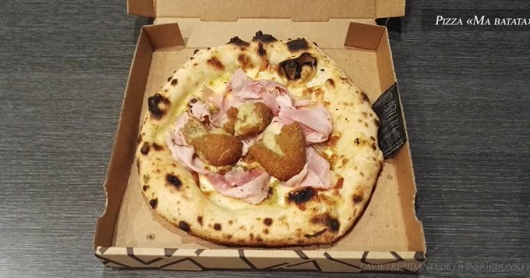 J'ai testé pour vous : la pizza Ma batata – La gloria di mio padre – Cergy