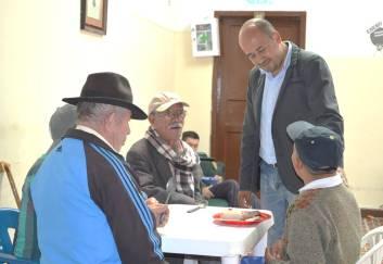Richard, su fundador, es hoy concejal de Ubaté. La Villa.