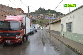 Esta es la calle en donde más se presentan atracos. La Villa.