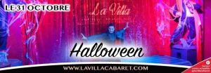 Dîner spectacle soirée Halloween jeudi 31 octobre