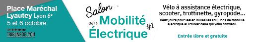 Salon de la Mobilité Électrique le 5 et 6 octobre