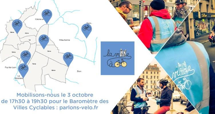 Baromètre des Villes Cyclables : Mobilisons-nous !