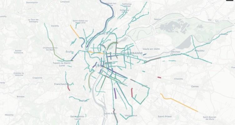 Découvrez les 115 aménagements transitoires proposés par La Ville à Vélo