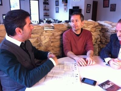 Grabacion de LaVisita con Rafa Castejon y Daniel Merino en Larruzz (53)