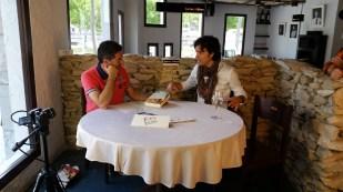 Programa con el escritor Andres Pascual en Larruzz, con Jon Fano y JabierCalle (5)