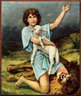 Image result for david kills a lion