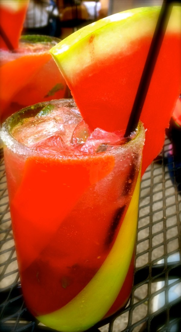 Watermelon mojitos: Oh my God!