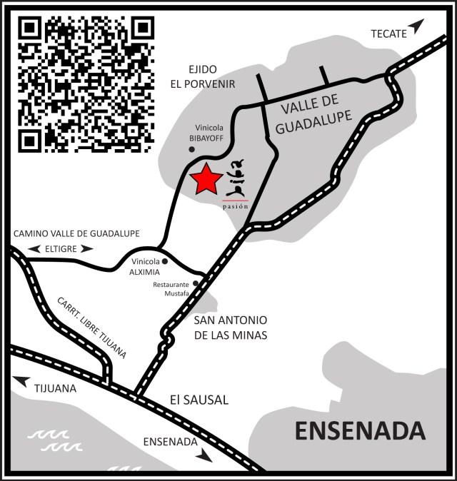Map by Pasión Biba.