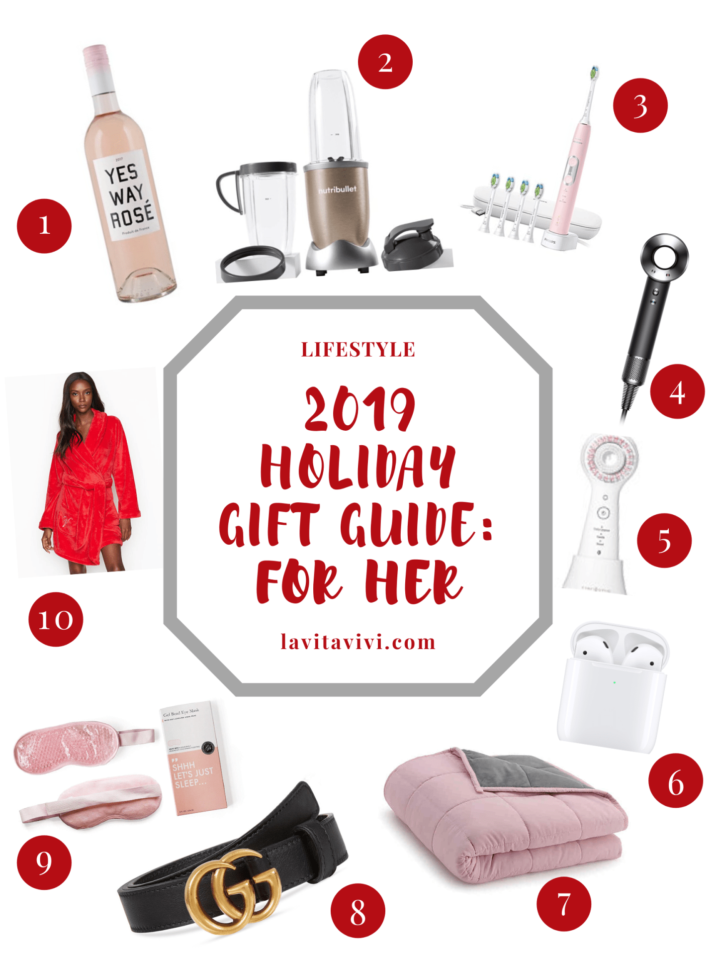 2019 HOLIDAY GIFT GUIDE: FOR HER