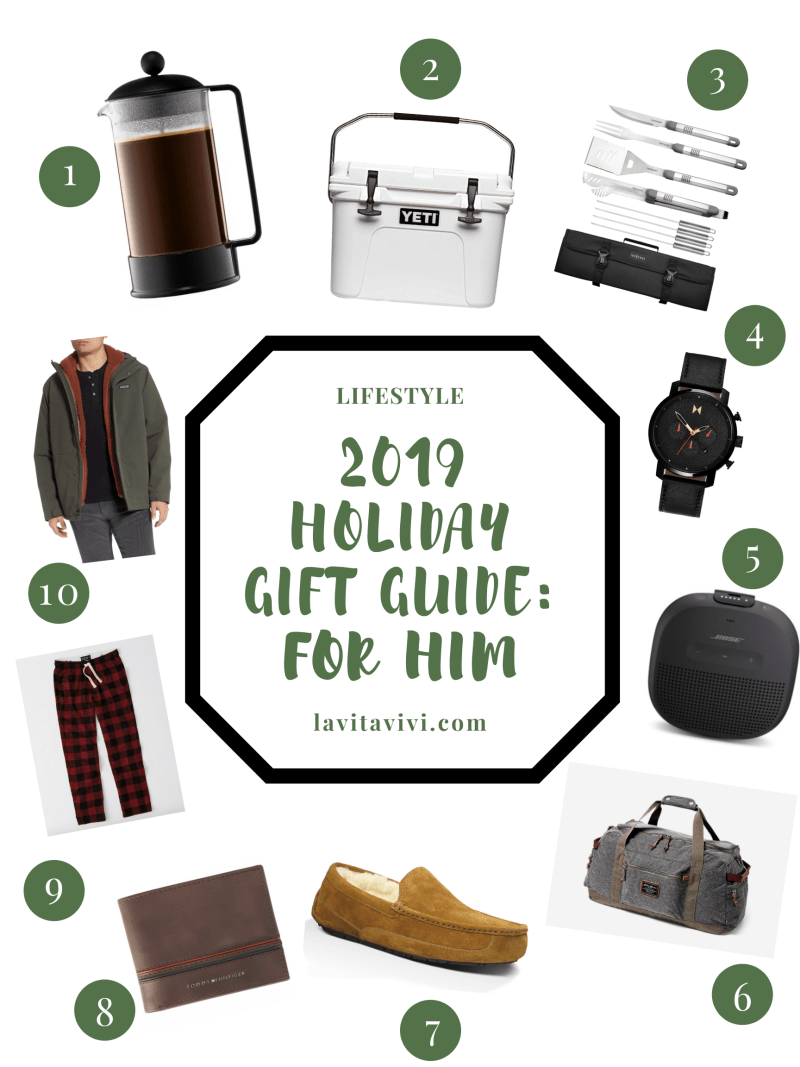 2019 HOLIDAY GIFT GUIDE: FOR HIM