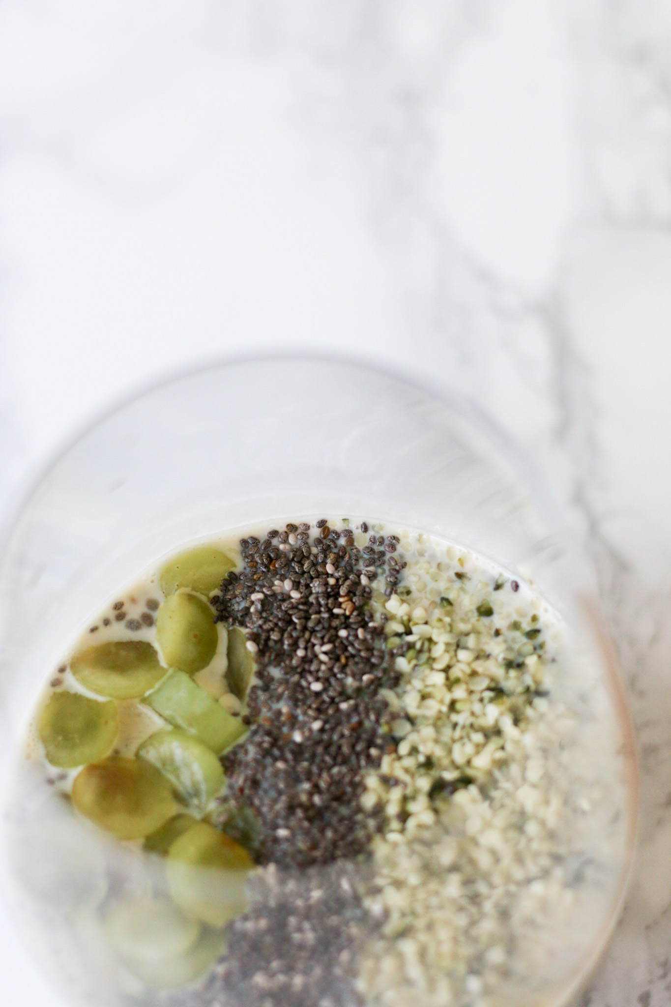 OAT MILK CHIA SEED PUDDING (VEGAN)