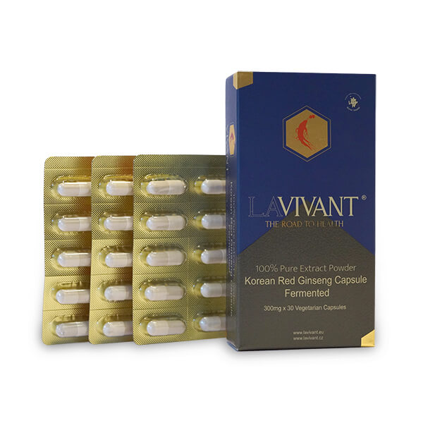 Lavivant Capsules for alleviating fatigue and supporting memory functions