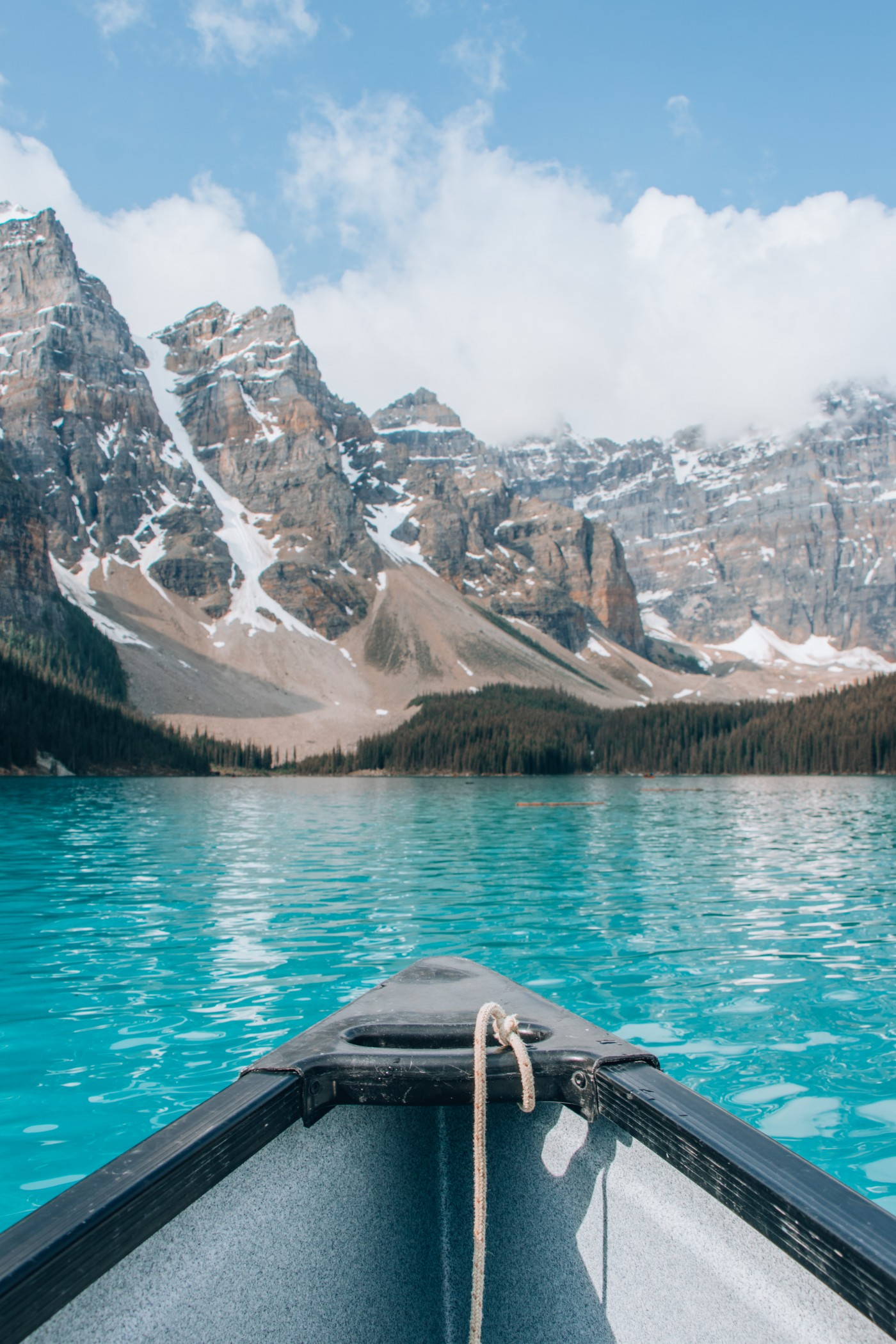 Moraine Lake Canoeing | Top 10 Photography Spots in Banff National Park