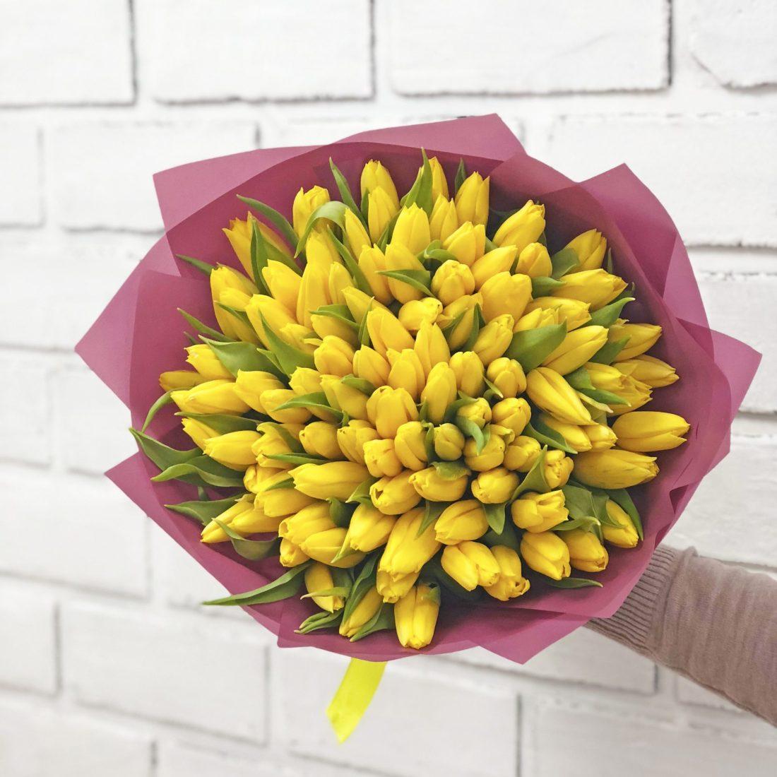 Тюльпаны Уфа