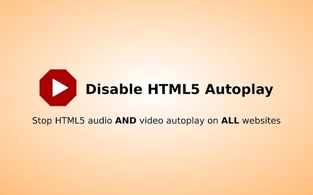 Как отключить автозапуск звука и видео на сайтах