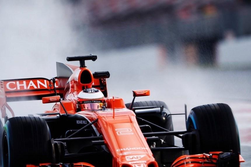McLaren  f1 2017
