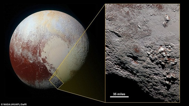 """Космический зонд """"New Horizons"""" сделал снимки самого дальнего объекта солнечной системы"""