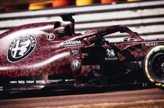 Alfa Romeo Kimi Raikkonen debuts 2019 F1 car in special Valentines Day livery