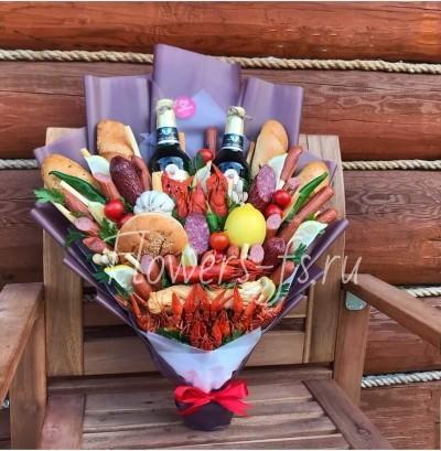 Съедобный букет отличный подарок на любой праздник