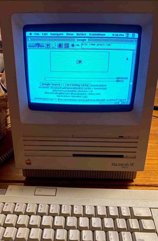 Macintosh SE/30 1989