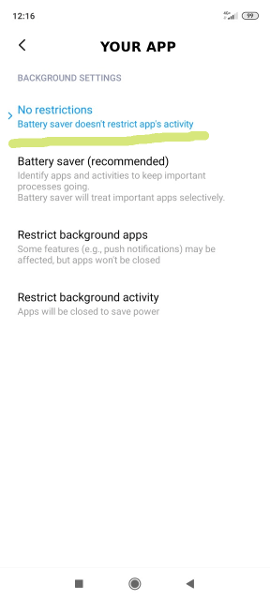Как запретить Xiaomi и Android завершать программы в фоновом режиме?