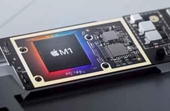 Apple представила первый собственный процессор для компьютера — M1