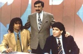 """Conduttore di """"Pressing"""" con due ospiti d'eccezione: Gullit e Maradona"""