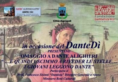 """Agropoli, Dantedì del 25 03 2021: """"la lettura degli studenti"""""""