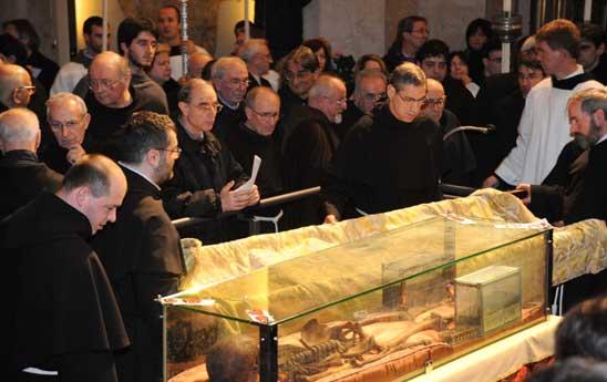 le reliquie di sant'Antonio di Padova